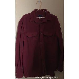 mont-bell Fleece Long Sleeved Shirt Size L